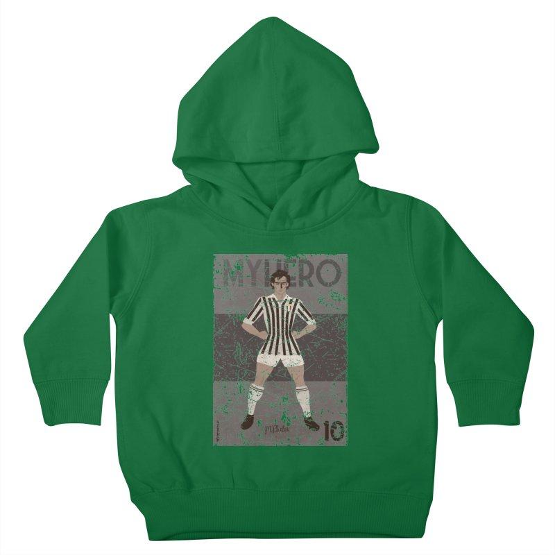Platini My Hero Grunge Edition Kids Toddler Pullover Hoody by ZEROSTILE'S ARTIST SHOP
