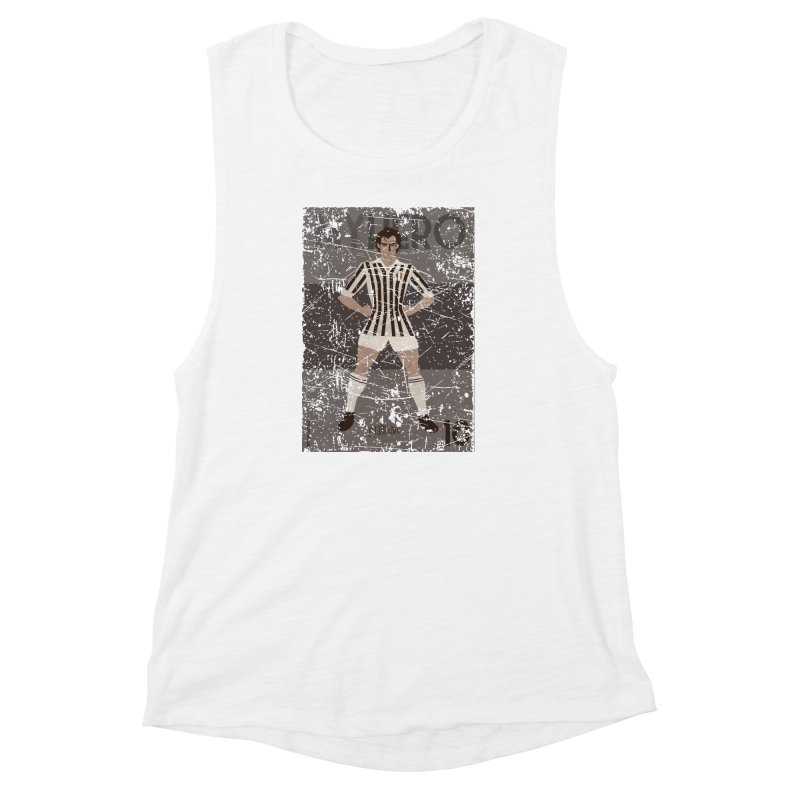 Platini My Hero Grunge Edition Women's Muscle Tank by ZEROSTILE'S ARTIST SHOP