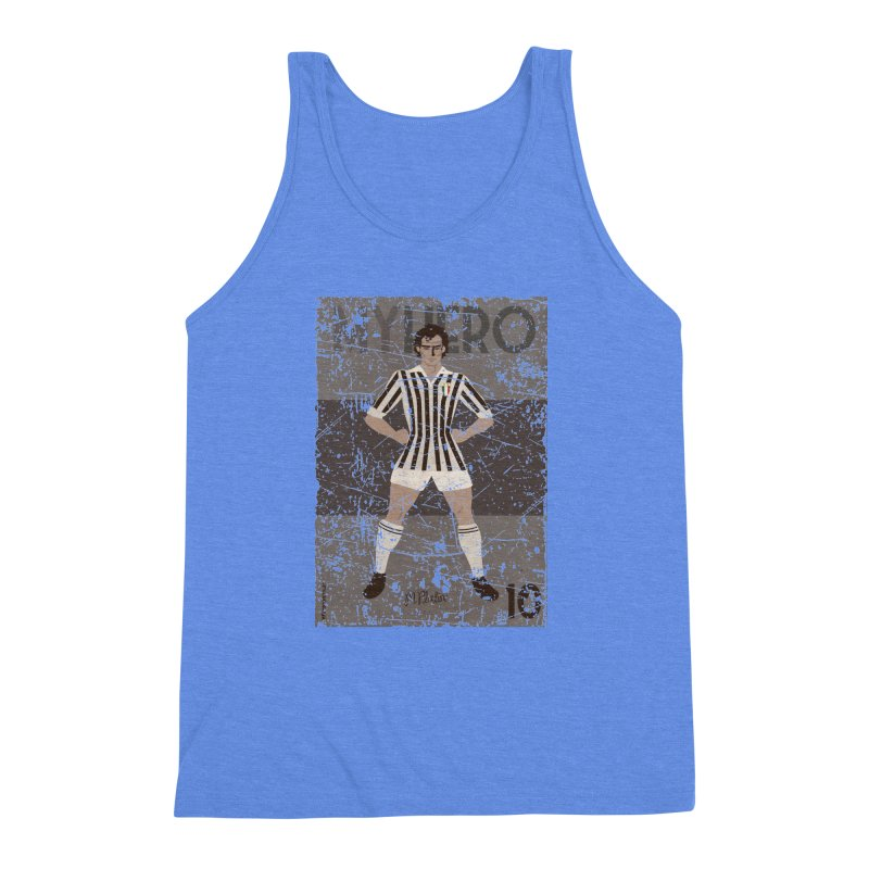 Platini My Hero Grunge Edition Men's Triblend Tank by ZEROSTILE'S ARTIST SHOP