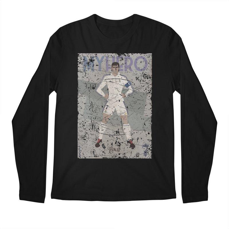 Raul My Hero Grunge Edt Men's Longsleeve T-Shirt by ZEROSTILE'S ARTIST SHOP