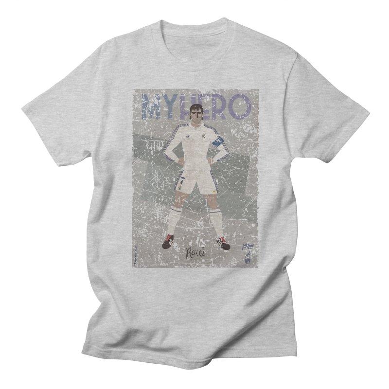 Raul My Hero Grunge Edt Men's T-shirt by ZEROSTILE'S ARTIST SHOP
