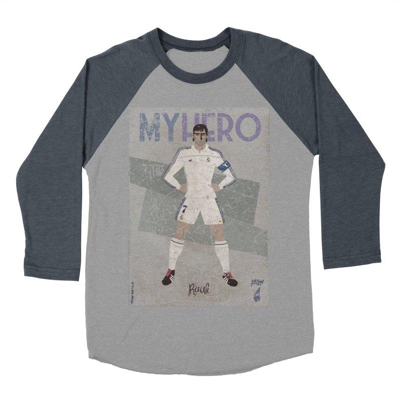 Raul My Hero Grunge Edt Women's Baseball Triblend T-Shirt by ZEROSTILE'S ARTIST SHOP