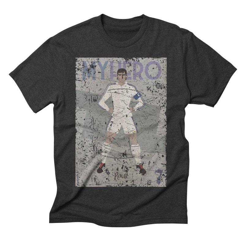 Raul My Hero Grunge Edt Men's Triblend T-shirt by ZEROSTILE'S ARTIST SHOP