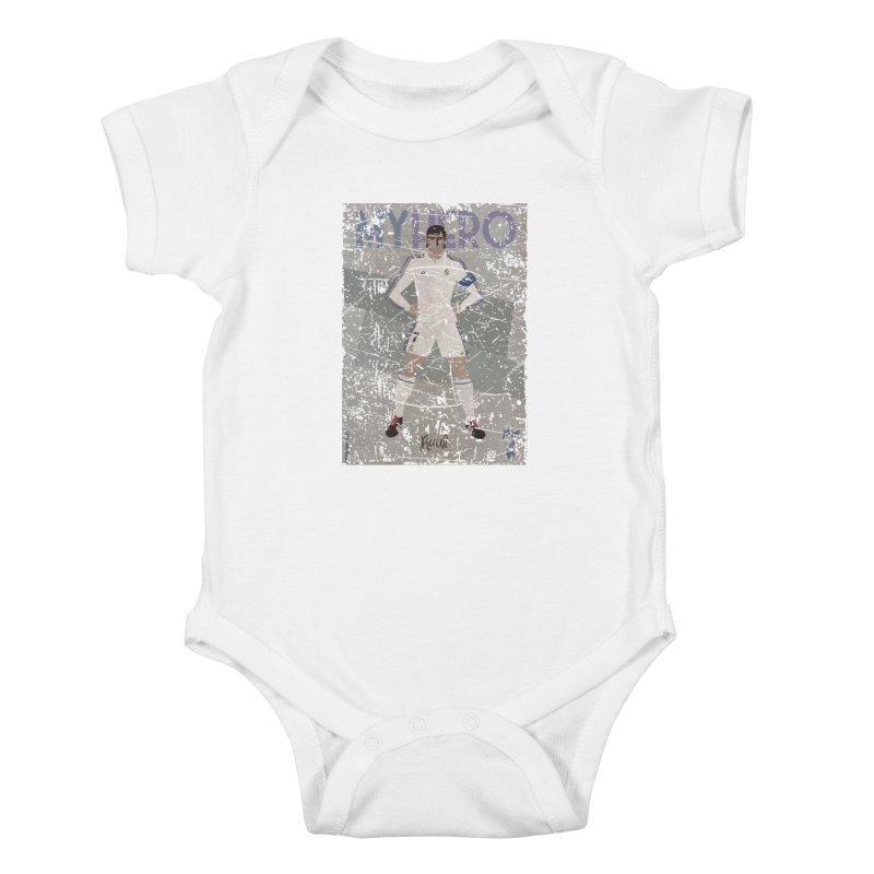 Raul My Hero Grunge Edt Kids Baby Bodysuit by ZEROSTILE'S ARTIST SHOP