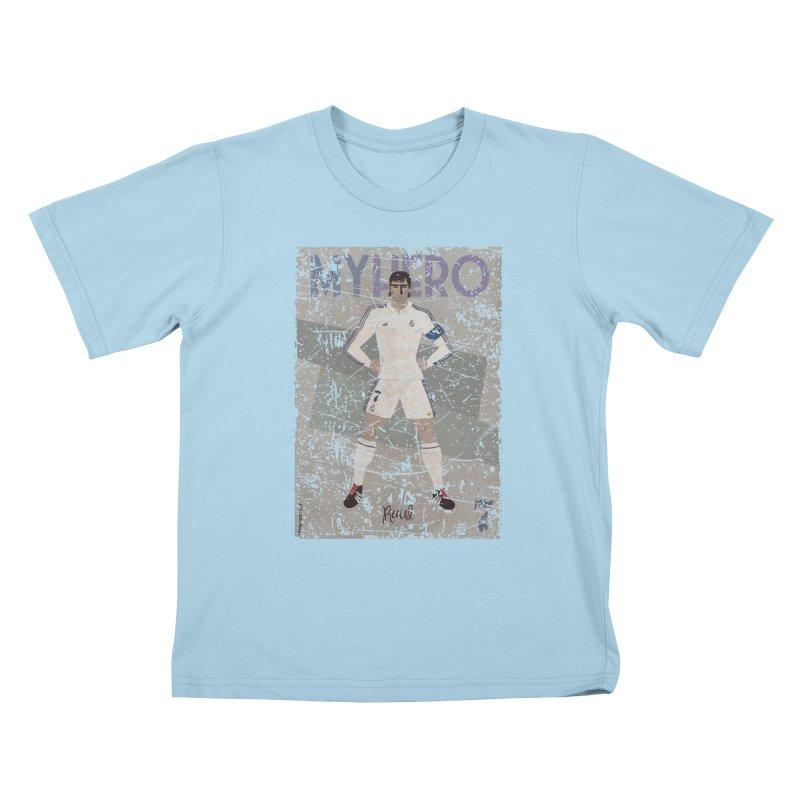 Raul My Hero Grunge Edt Kids T-shirt by ZEROSTILE'S ARTIST SHOP