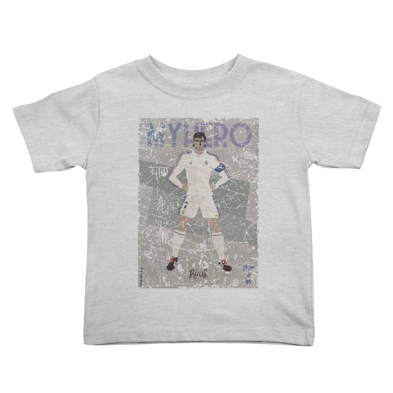 Raul My Hero Grunge Edt Kids Toddler T-Shirt by ZEROSTILE'S ARTIST SHOP