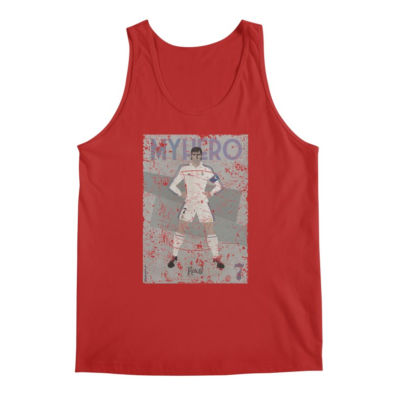 Raul My Hero Grunge Edt Men's Tank by ZEROSTILE'S ARTIST SHOP