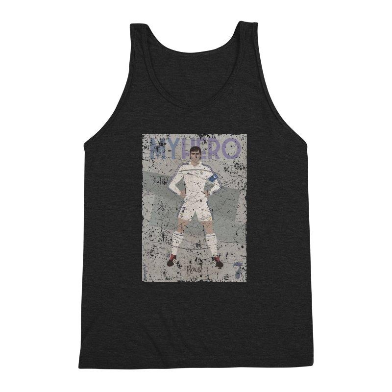 Raul My Hero Grunge Edt Men's Triblend Tank by ZEROSTILE'S ARTIST SHOP