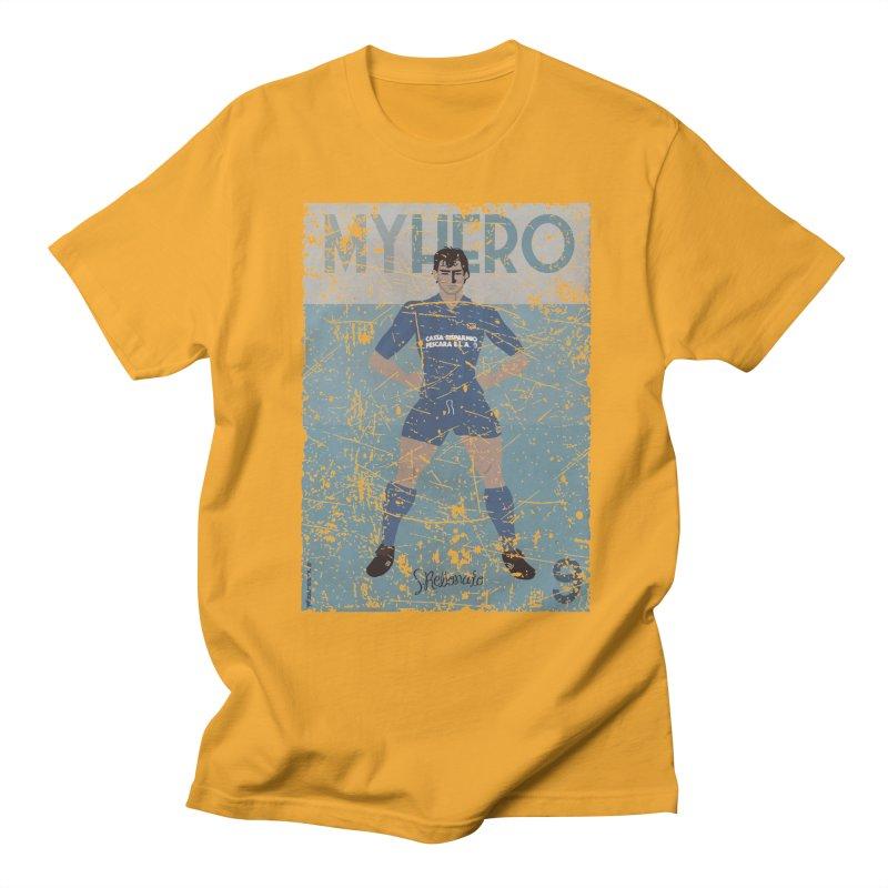 Rebonato My Hero Grunge Edt Men's T-shirt by ZEROSTILE'S ARTIST SHOP