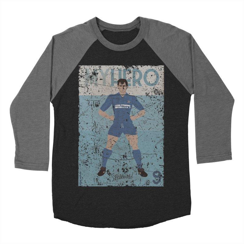 Rebonato My Hero Grunge Edt Women's Baseball Triblend T-Shirt by ZEROSTILE'S ARTIST SHOP