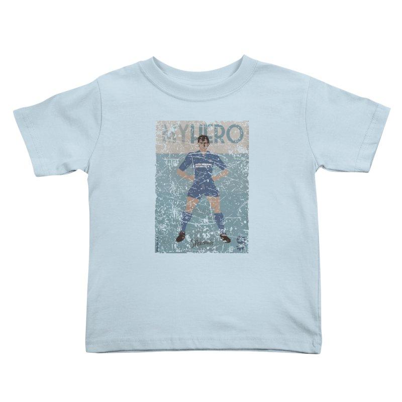 Rebonato My Hero Grunge Edt Kids Toddler T-Shirt by ZEROSTILE'S ARTIST SHOP