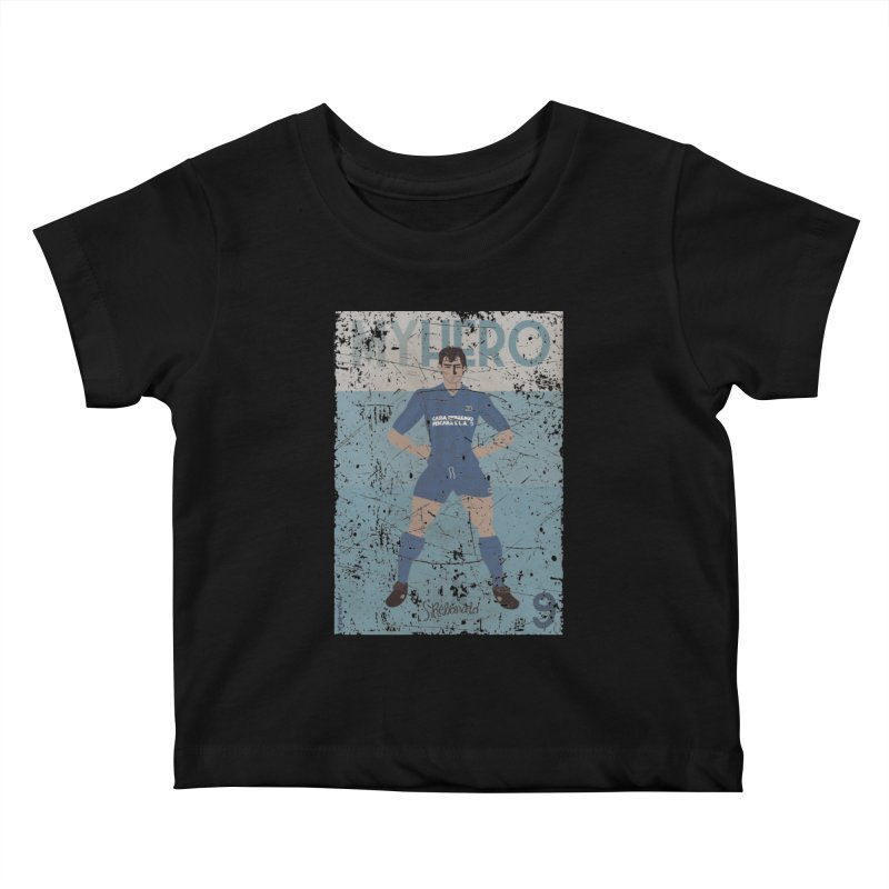 Rebonato My Hero Grunge Edt Kids Baby T-Shirt by ZEROSTILE'S ARTIST SHOP