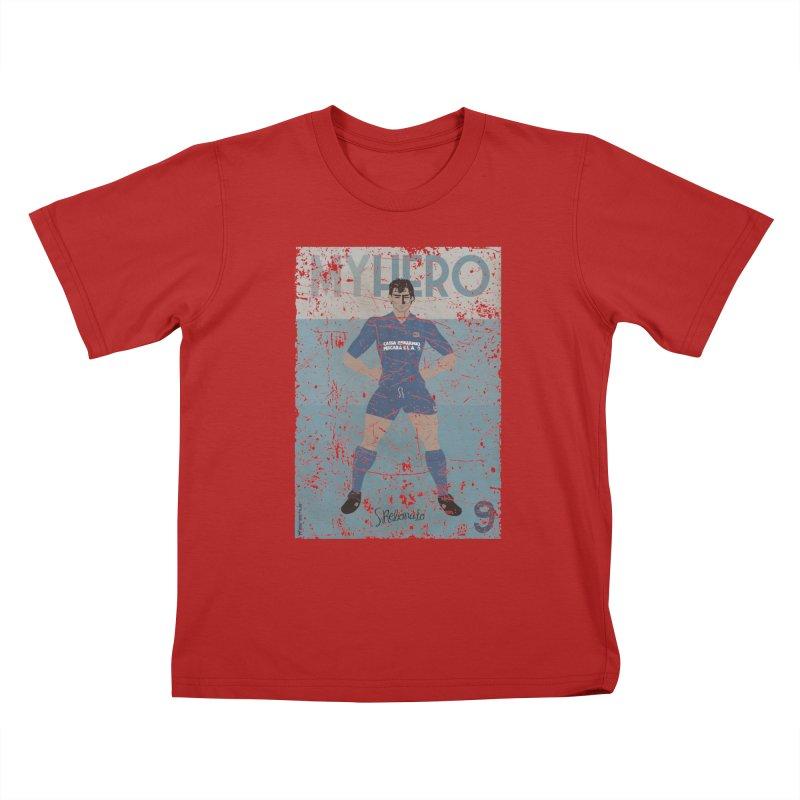 Rebonato My Hero Grunge Edt Kids T-shirt by ZEROSTILE'S ARTIST SHOP