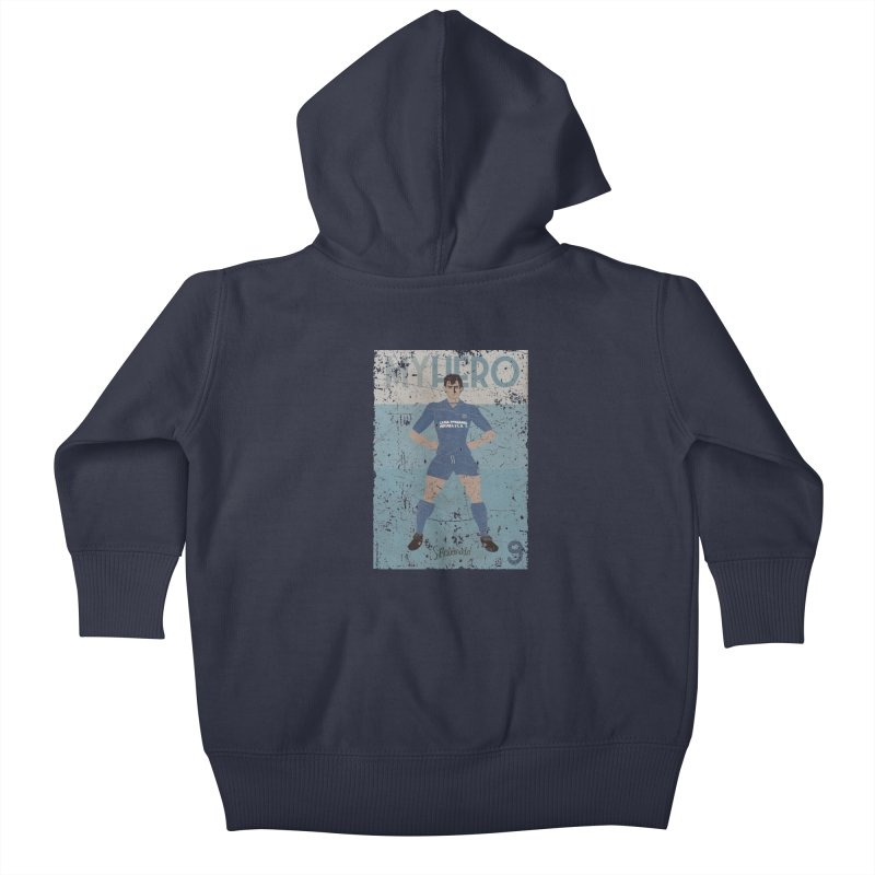 Rebonato My Hero Grunge Edt Kids Baby Zip-Up Hoody by ZEROSTILE'S ARTIST SHOP