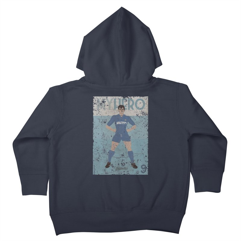 Rebonato My Hero Grunge Edt Kids Toddler Zip-Up Hoody by ZEROSTILE'S ARTIST SHOP