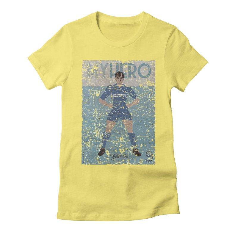 Rebonato My Hero Grunge Edt Women's Fitted T-Shirt by ZEROSTILE'S ARTIST SHOP