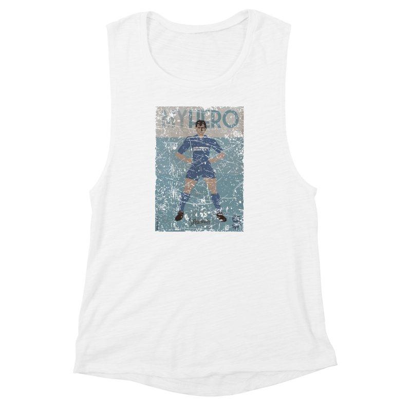 Rebonato My Hero Grunge Edt Women's Muscle Tank by ZEROSTILE'S ARTIST SHOP