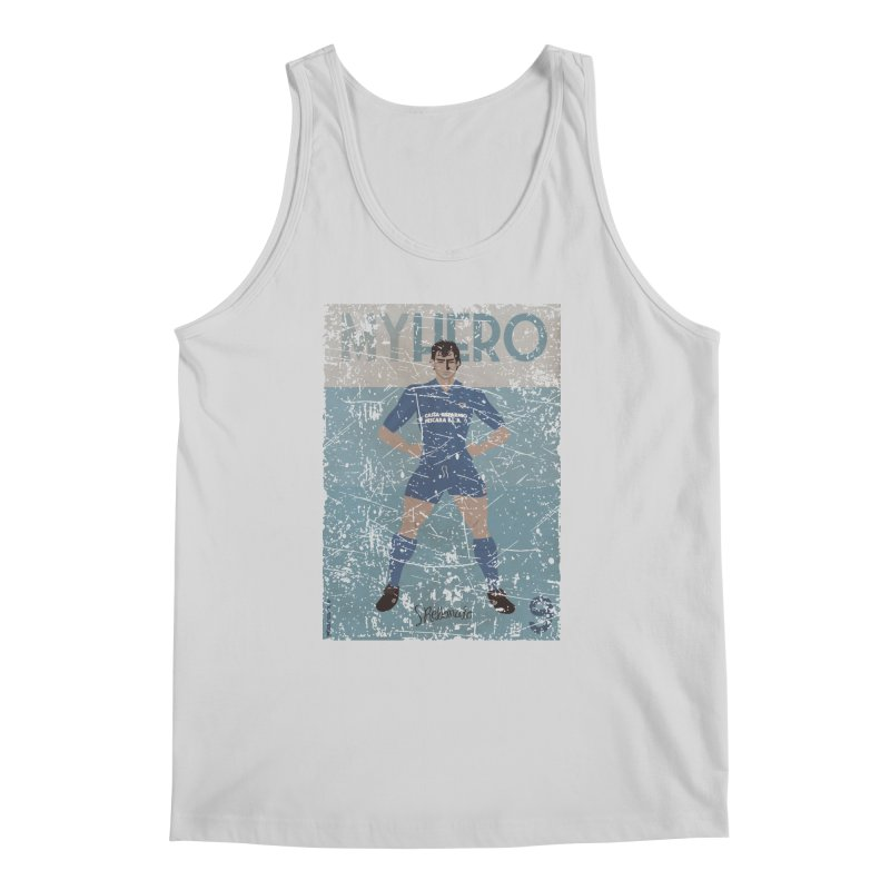 Rebonato My Hero Grunge Edt Men's Tank by ZEROSTILE'S ARTIST SHOP