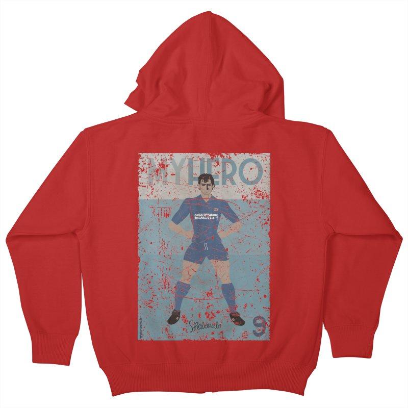 Rebonato My Hero Grunge Edt Kids Zip-Up Hoody by ZEROSTILE'S ARTIST SHOP