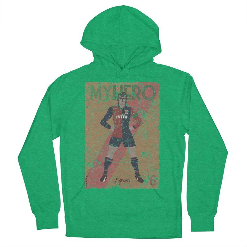 Signorini My Hero Grunge Edt Women's Pullover Hoody by ZEROSTILE'S ARTIST SHOP