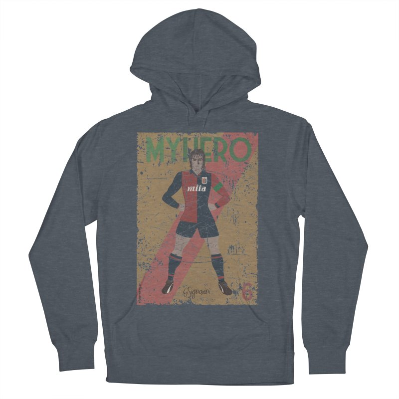 Signorini My Hero Grunge Edt Men's Pullover Hoody by ZEROSTILE'S ARTIST SHOP