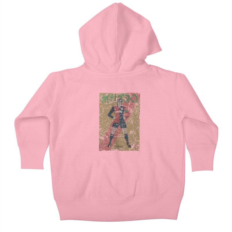 Signorini My Hero Grunge Edt Kids Baby Zip-Up Hoody by ZEROSTILE'S ARTIST SHOP