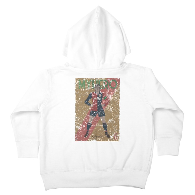 Signorini My Hero Grunge Edt Kids Toddler Zip-Up Hoody by ZEROSTILE'S ARTIST SHOP