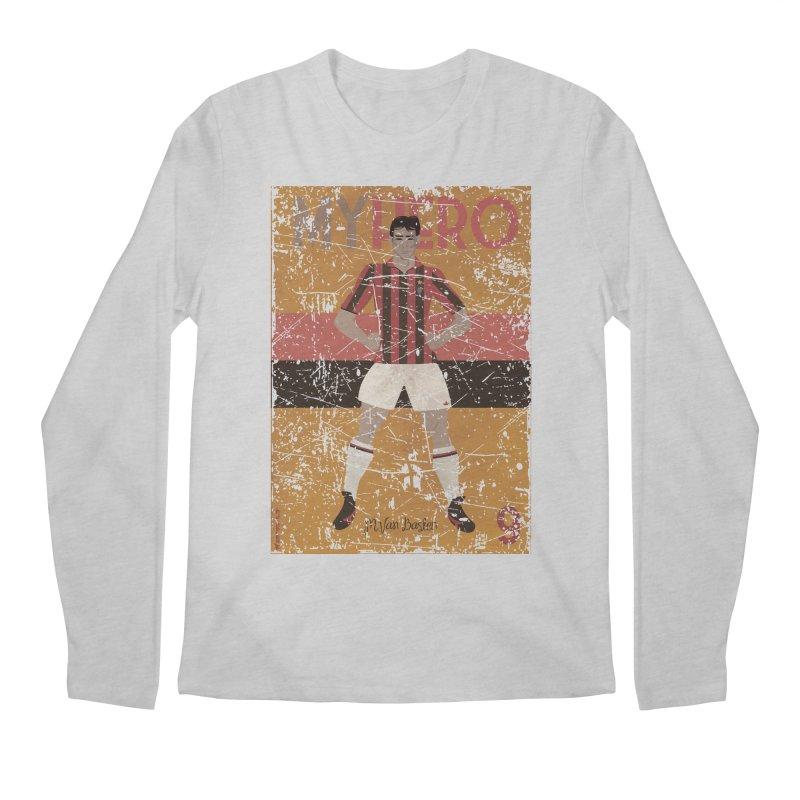 Van Basten My Hero Grunge Edt Men's Longsleeve T-Shirt by ZEROSTILE'S ARTIST SHOP