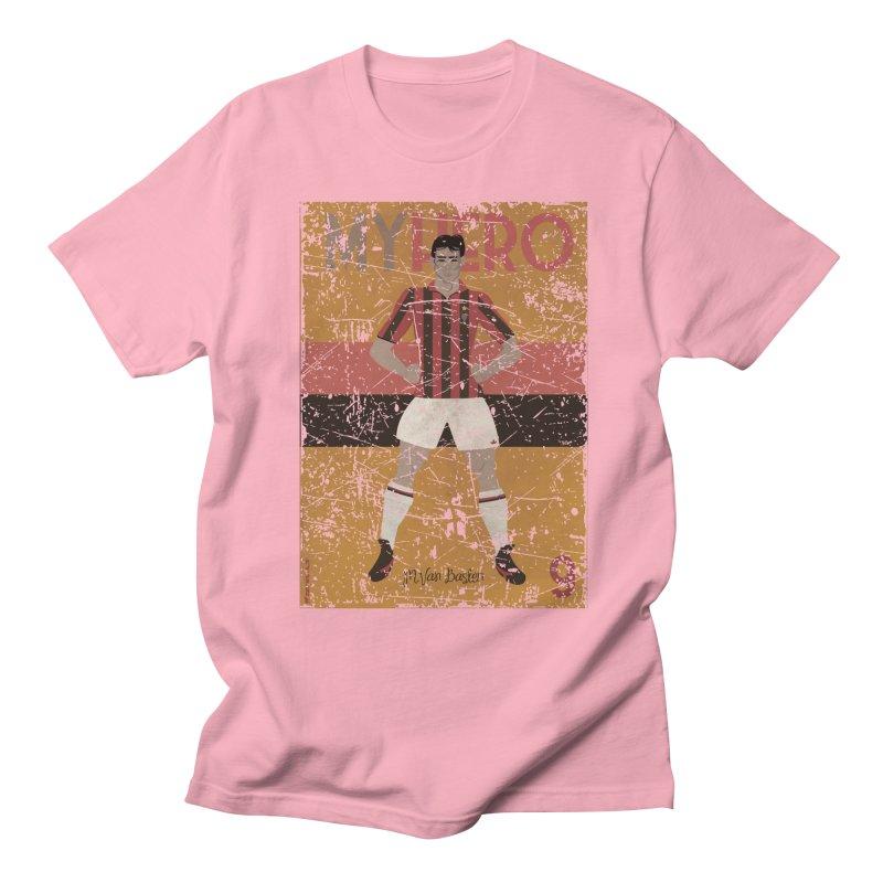 Van Basten My Hero Grunge Edt Men's T-shirt by ZEROSTILE'S ARTIST SHOP