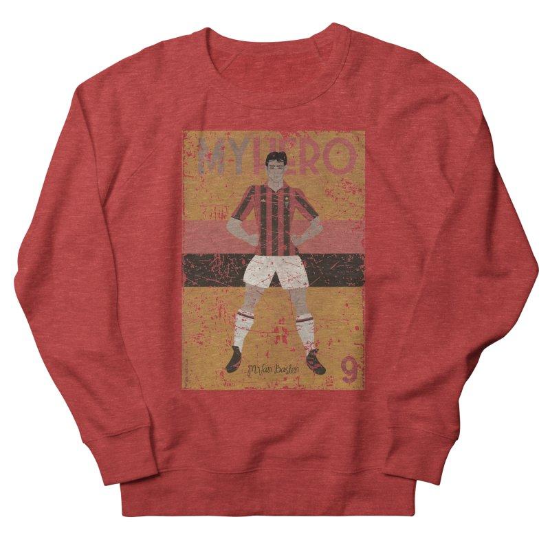 Van Basten My Hero Grunge Edt Men's Sweatshirt by ZEROSTILE'S ARTIST SHOP