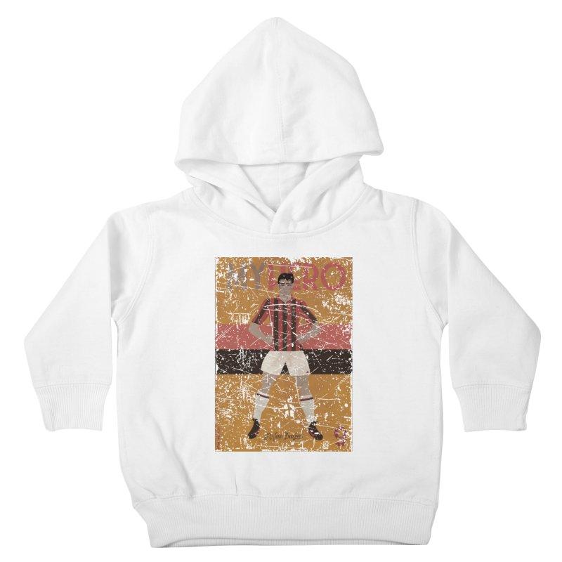 Van Basten My Hero Grunge Edt Kids Toddler Pullover Hoody by ZEROSTILE'S ARTIST SHOP