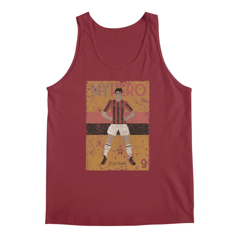 Van Basten My Hero Grunge Edt Men's Tank by ZEROSTILE'S ARTIST SHOP