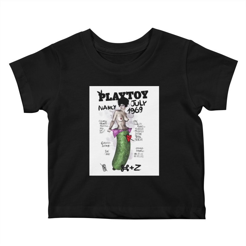 Playtoy_Nancy Kids Baby T-Shirt by ZEROSTILE'S ARTIST SHOP