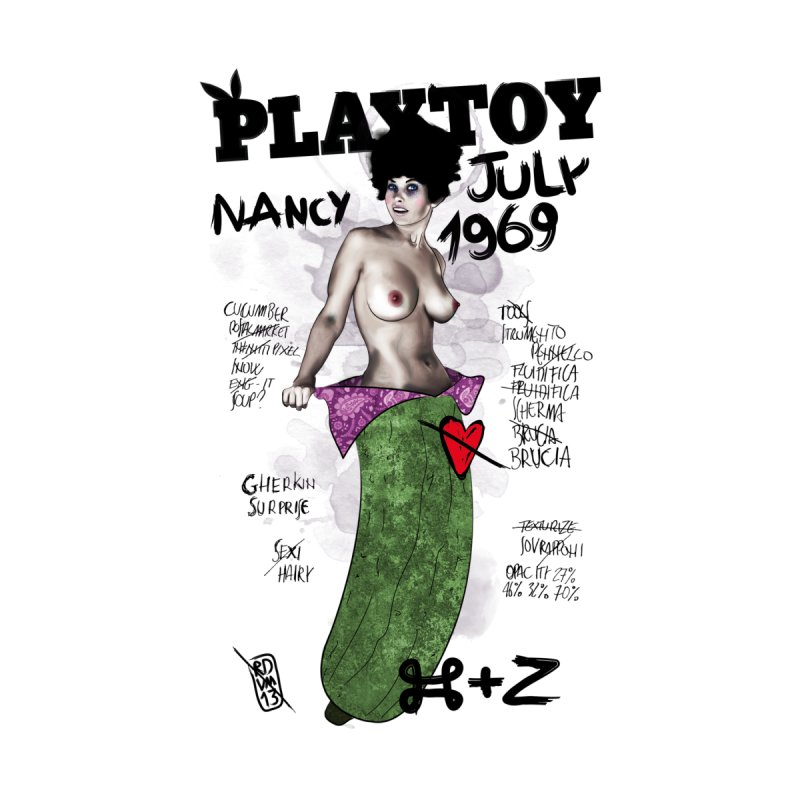Playtoy_Nancy Men's V-Neck by ZEROSTILE'S ARTIST SHOP