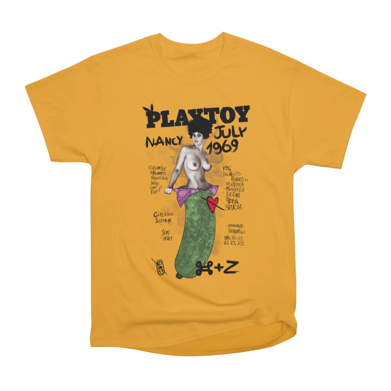 Playtoy_Nancy Men's Heavyweight T-Shirt by ZEROSTILE'S ARTIST SHOP