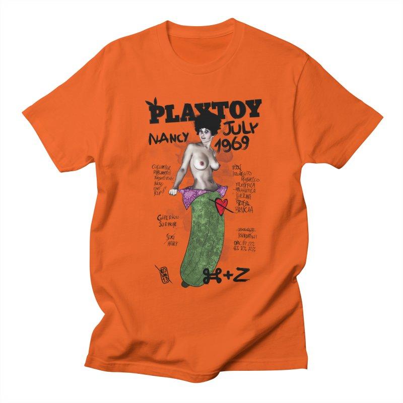 Playtoy_Nancy Men's T-Shirt by ZEROSTILE'S ARTIST SHOP