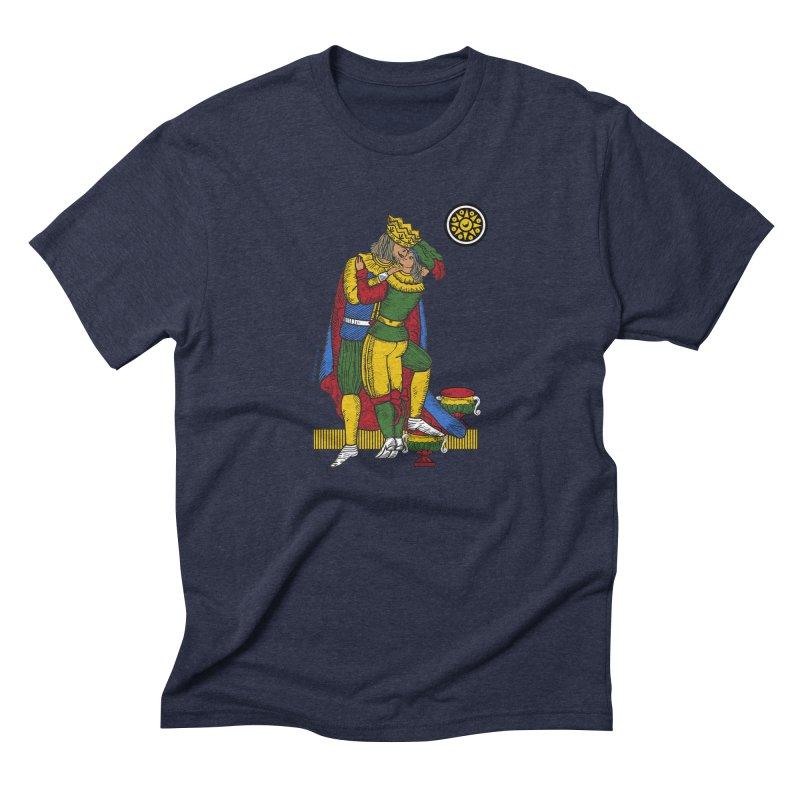 The Kiss - Neapolitan cards Men's Triblend T-shirt by ZEROSTILE'S ARTIST SHOP