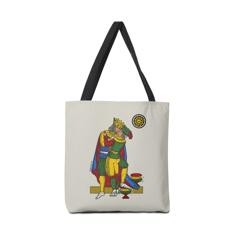 The Kiss - Neapolitan cards Accessories Tote Bag Bag by ZEROSTILE'S ARTIST SHOP