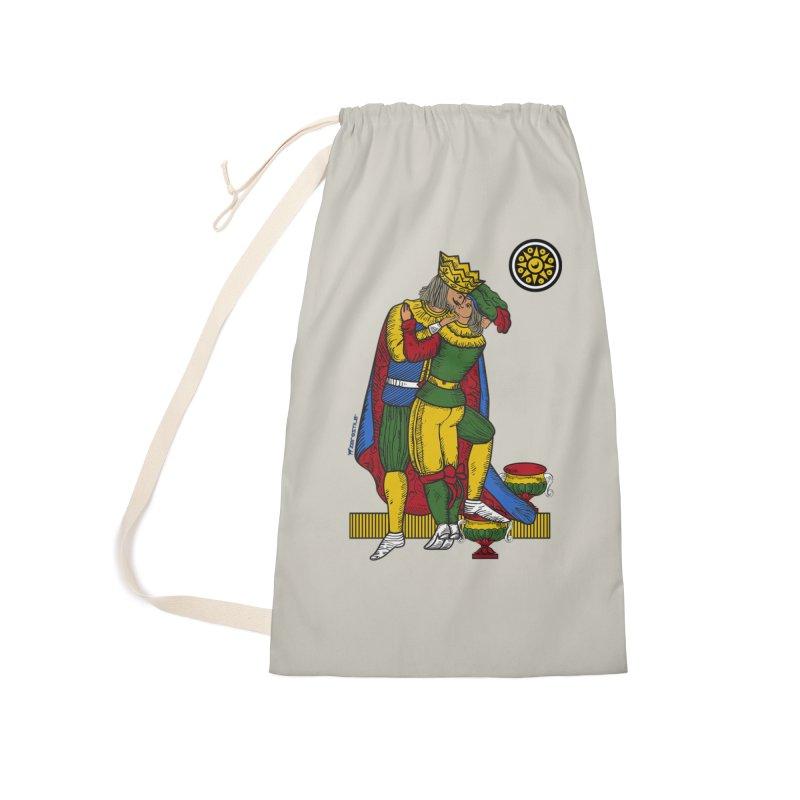 The Kiss - Neapolitan cards Accessories Bag by ZEROSTILE'S ARTIST SHOP