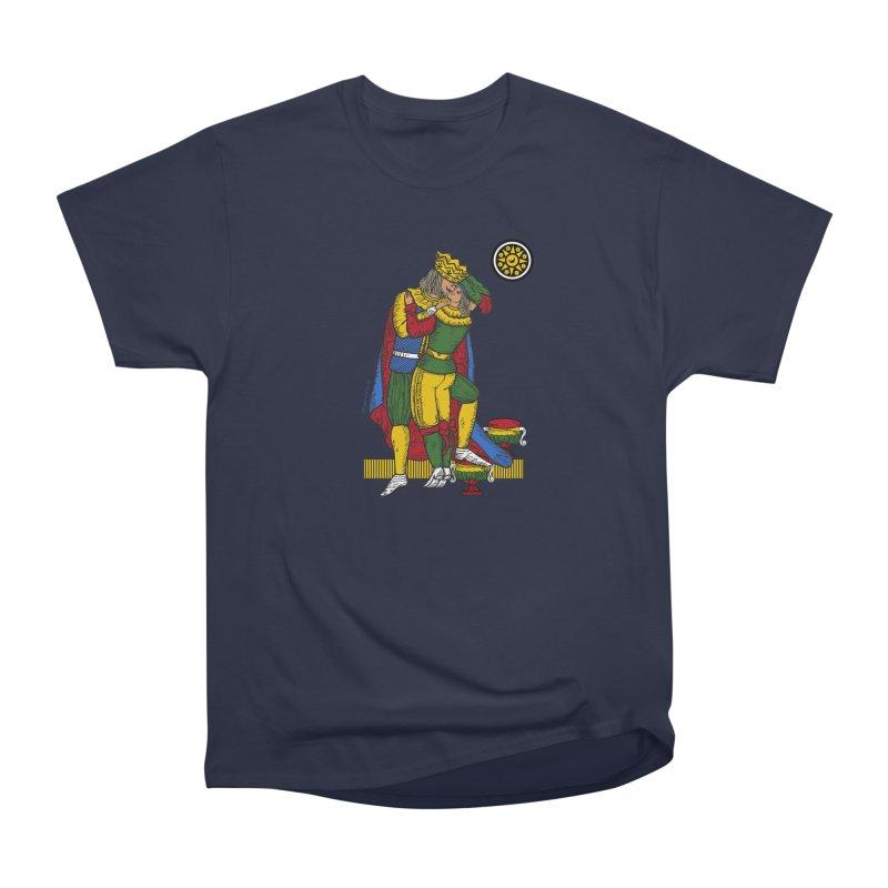 The Kiss - Neapolitan cards Men's T-Shirt by ZEROSTILE'S ARTIST SHOP