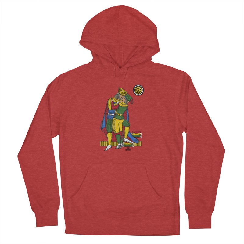 The Kiss - Neapolitan cards Women's Pullover Hoody by ZEROSTILE'S ARTIST SHOP