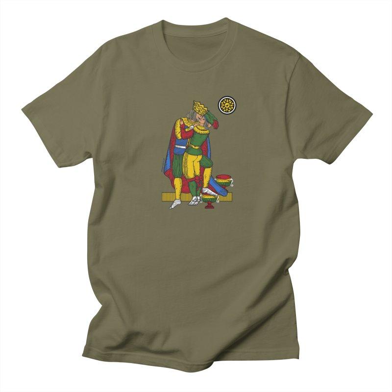 The Kiss - Neapolitan cards Men's Regular T-Shirt by ZEROSTILE'S ARTIST SHOP