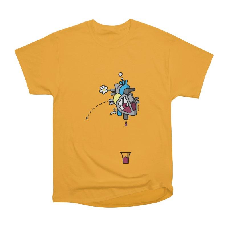 CuorVino Men's Classic T-Shirt by ZEROSTILE'S ARTIST SHOP
