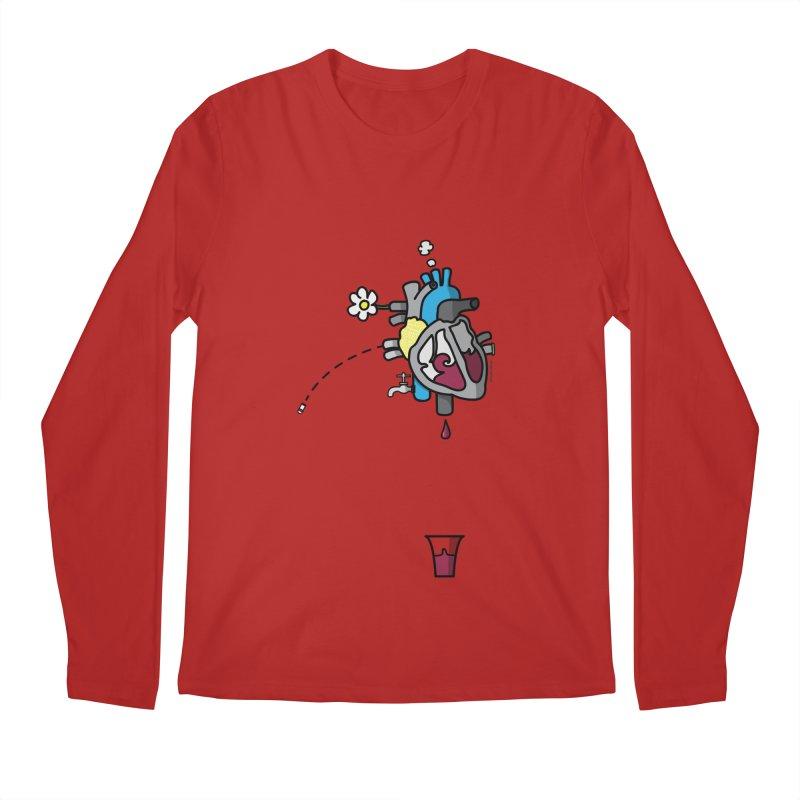 CuorVino Men's Longsleeve T-Shirt by ZEROSTILE'S ARTIST SHOP