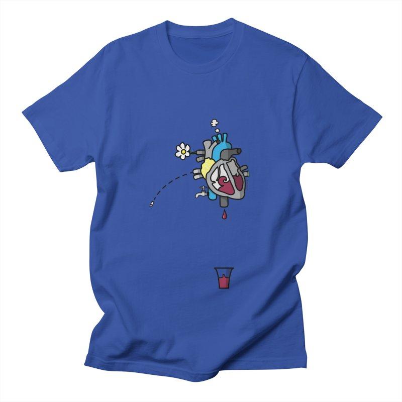 CuorVino Men's T-shirt by ZEROSTILE'S ARTIST SHOP