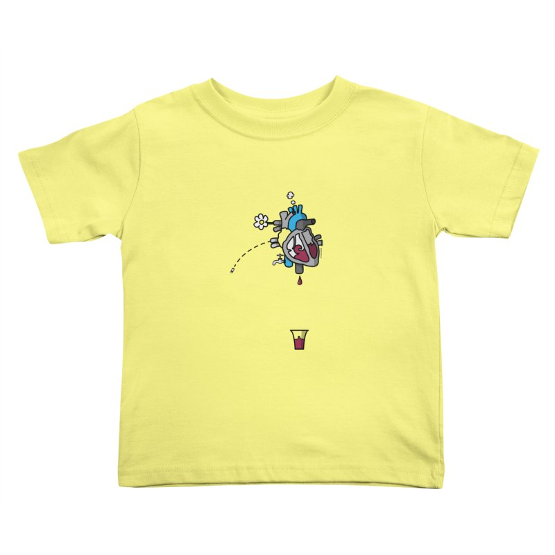 CuorVino Kids Toddler T-Shirt by ZEROSTILE'S ARTIST SHOP