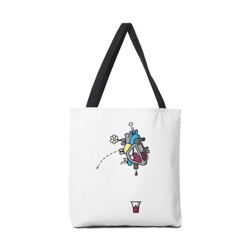 CuorVino Accessories Bag by ZEROSTILE'S ARTIST SHOP