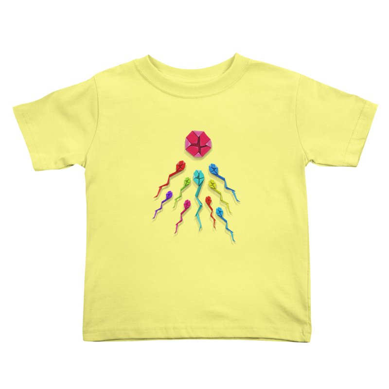 Origasmi Kids Toddler T-Shirt by ZEROSTILE'S ARTIST SHOP