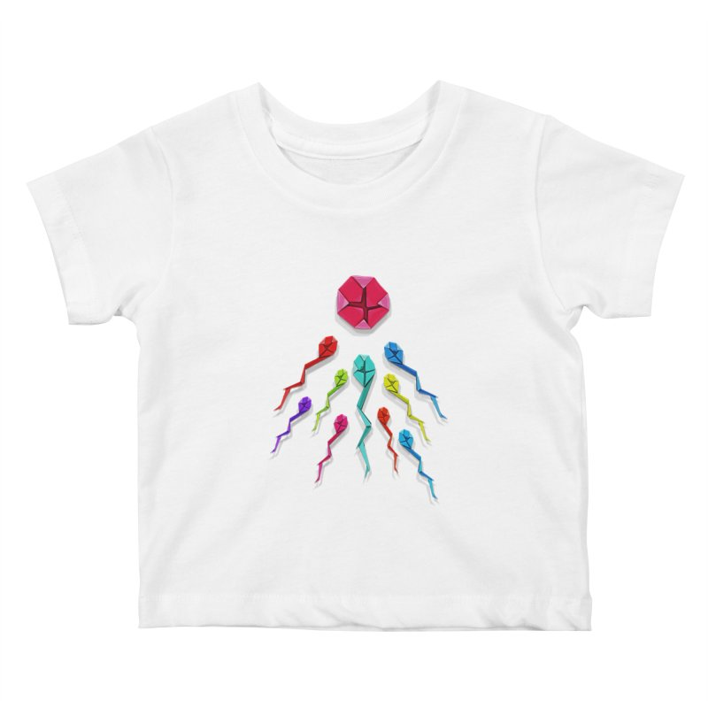 Origasmi Kids Baby T-Shirt by ZEROSTILE'S ARTIST SHOP