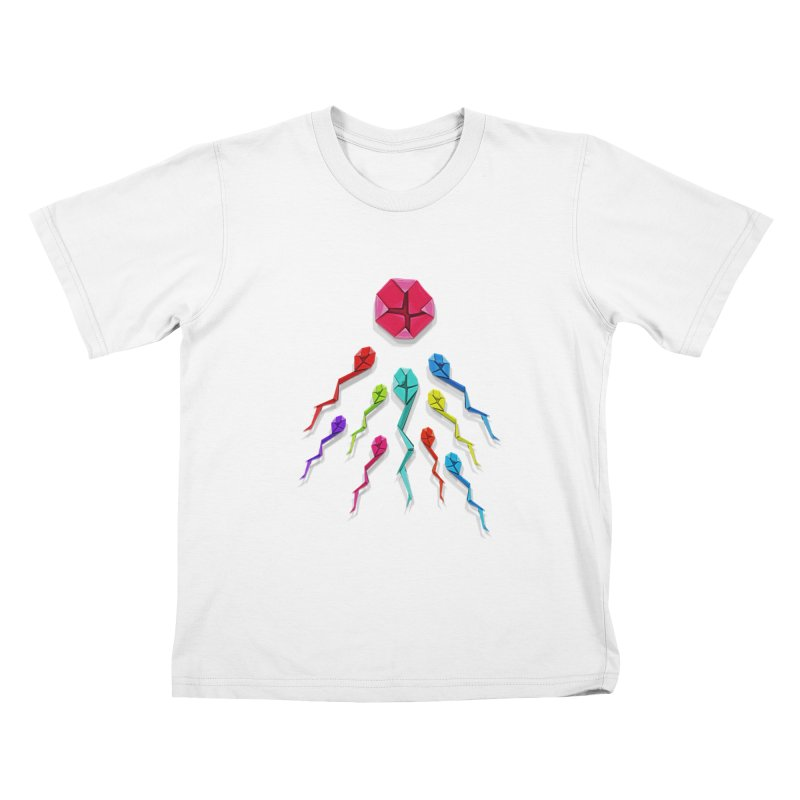Origasmi Kids T-Shirt by ZEROSTILE'S ARTIST SHOP